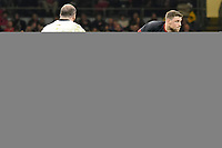 Rugby Union - 2017 Under Armour Series (Autumn Internationals) - Wales vs. Georgia<br /> <br /> Rhys Priestland of Wales passes the ball out, at The Principality Stadium (Millennium Stadium), Cardiff.<br /> <br /> COLORSPORT/WINSTON BYNORTH