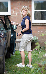 © Licensed to London News Pictures. 10/09/2018. Thame, UK. Rachel Johnson arrives at her brother Boris Johnson's Oxfordshire house . Last week it was announced that Boris Johnson and his wife Marina Wheeler are getting divorced. Photo credit: Peter Macdiarmid/LNP