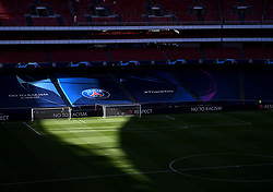 LISBON, PORTUGAL - Sunday, August 23, 2020: A general view of the stadium before the UEFA Champions League Final between FC Bayern Munich and Paris Saint-Germain at the Estadio do Sport Lisboa e Benfica. (Credit: ©UEFA)