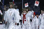 Schweizer Delegation laeuft ins Stadion ein © Thomas Oswald/EQ Images