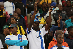 General view of fans during the 2016 Premier Soccer League match between Chippa United and Platinum Stars held at the Nelson Mandela Bay Stadium in Port Elizabeth, South Africa on the 28th October 2016<br />