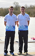 Caversham. Berkshire. UK<br /> GBR LM2X. left, Richard CHAMBERS and Will FLETCHER.<br /> 2016 GBRowing European Team Announcement,  <br /> <br /> Wednesday  06/04/2016 <br /> <br /> [Mandatory Credit; Peter SPURRIER/Intersport-images]