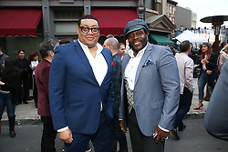 Michelle Pesce attends the 2018 Fox LA Screenings Gala and party on the Fox Studio Lot on May 24, 2018 in Los Angeles, California. (Photo by John Salangsang/Fox/PictureGroup). 24 May 2018 Pictured: Cedric Yarbrough, Chad L. Coleman. Photo credit: John Salangsang/Fox/PictureGroup / MEGA TheMegaAgency.com +1 888 505 6342