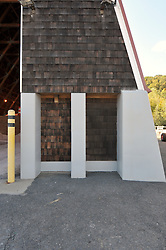 CT-DOT Project No. 06-119 Beacon Falls Salt Shed. Photographs on 06 October 2009. Final Photographs of completed project.