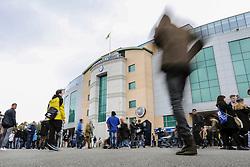 Chelsea fans arrive at Stamford Bridge - Mandatory by-line: Jason Brown/JMP - 15/10/2016 - FOOTBALL - Stamford Bridge - London, England - Chelsea v Leicester City - Premier League