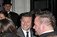 LONDON - FEBRUARY 13: Dermot O'Leary attends the public relations disaster that was the outside arrivals at the ELLE Style Awards at the Savoy Hotel, London, UK on February 13, 2012. (Photo by Richard Goldschmidt)