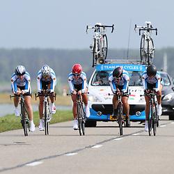 Brainwash Ladiestour Dronten Team Time Trail Team Ibis cycles; Nathalie van Gogh; Eileen Roe; Aafke eshuis; Julie Leth; Hannah Barness; Martine Thomasson