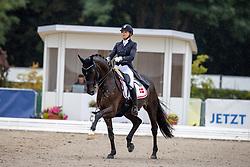 Helgstrand Marianne Yde, DEN, Elverhoesj Raccolto<br /> World Championship Young Horses Verden 2021<br /> © Hippo Foto - Dirk Caremans<br />  27/08/2021
