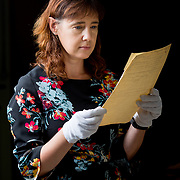 25.08. 2017.                                                      <br /> Limerick City and County Council Archives have become available in digitised Online platform. <br /> Pictured at Lissalta House in the Limerick City and County Council Archive was Jacqui Hayes, Limerick City and County Council Archivist. Picture: Alan Place