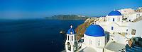 Grèce, Les Cyclades, Ile de Santorin (Thira), village de Oia (Ia) // Greece, Cyclades, Santorini island, oia (Ia) village