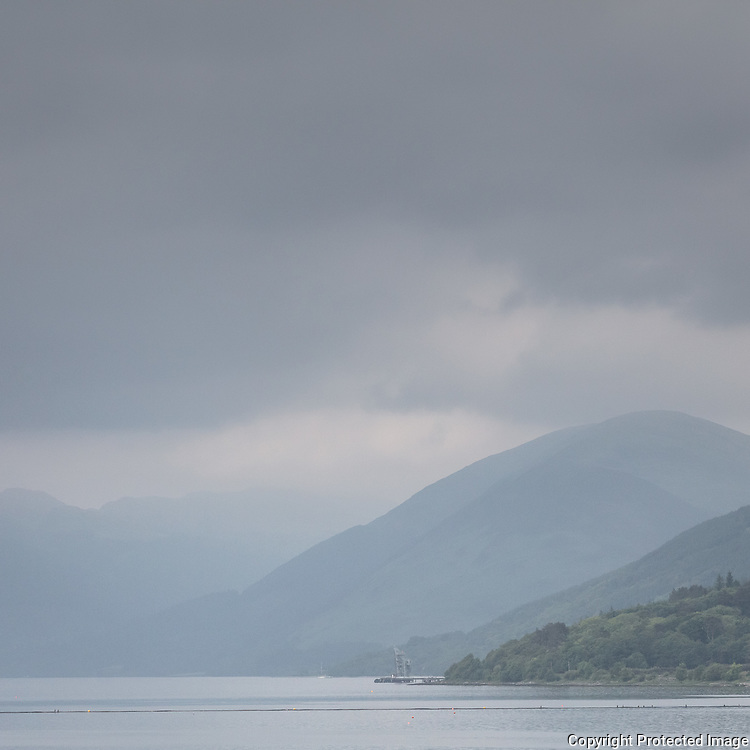 Ardyne Point, Nato Petrol, Oil And Lubricants Depot, Loch Striven, Argyll & Bute, Scotland.