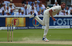 July 7, 2017 - London, United Kingdom - England's Stuart Broad .during 1st Investec Test Match between England and South Africa at Lord's Cricket Ground in London on July 07, 2017  (Credit Image: © Kieran Galvin/NurPhoto via ZUMA Press)