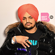 Sidhu Moose Wala is a singer attend the BritAsiaTV Presents Kuflink Punjabi Film Awards 2019 at Grosvenor House, Park Lane, London,United Kingdom. 30 March 2019