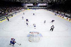 Ice hockey rink at IIHF Ice-hockey World Championships Division I Group B match between National teams of Slovenia and Croatia, on April 18, 2010, in Tivoli hall, Ljubljana, Slovenia. (Photo by Matic Klansek Velej / Sportida)