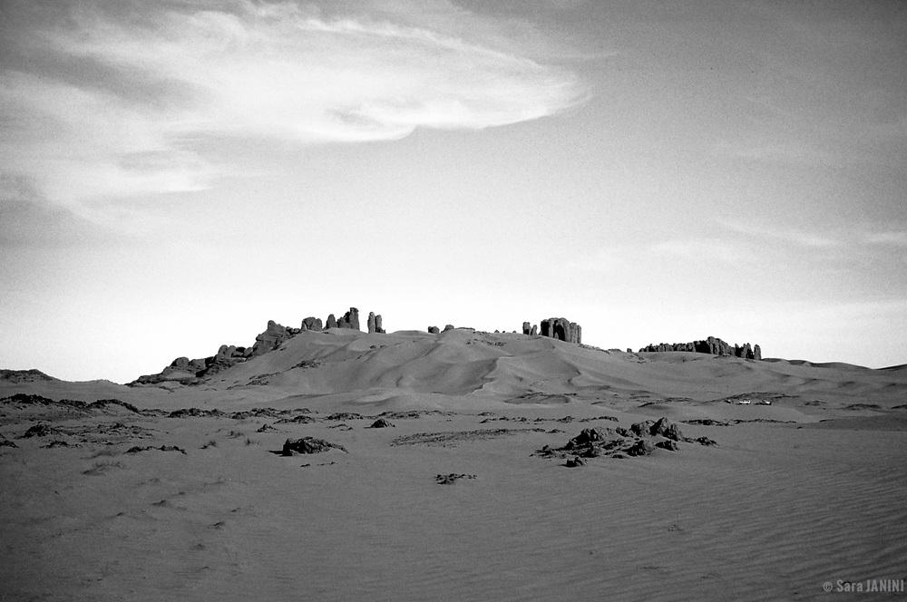 El Hoggar, Sahara Desert, Algeria, Africa