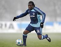 Fotball<br /> Tyskland<br /> Foto: Witters/Digitalsport<br /> NORWAY ONLY<br /> <br /> 08.01.2009<br /> <br /> Gerald Asamoah Schalke<br /> <br /> Testspiel FC Schalke 04 - TOP Oss 6:1