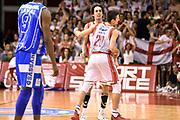 DESCRIZIONE : Reggio Emilia Lega A 2014-15 Grissin Bon Reggio Emilia - Banco di Sardegna Dinamo Sassari playoff Finale gara 5 <br /> GIOCATORE : Andrea Cinciarini Amedeo Della Valle<br /> CATEGORIA : esultanza<br /> SQUADRA : Grissin Bon Reggio Emilia<br /> EVENTO : LegaBasket Serie A Beko 2014/2015<br /> GARA : Grissin Bon Reggio Emilia - Banco di Sardegna Dinamo Sassari playoff Finale  gara 5<br /> DATA : 22/06/2015 <br /> SPORT : Pallacanestro <br /> AUTORE : Agenzia Ciamillo-Castoria/GiulioCiamillo<br /> Galleria : Lega Basket A 2014-2015 Fotonotizia : Reggio Emilia Lega A 2014-15 Grissin Bon Reggio Emilia - Banco di Sardegna Dinamo Sassari playoff Finale  gara 5<br /> Predefinita :