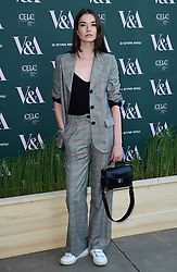 Margaret Clunie attending the VIP preview for the V&A Museum's Fashioned From Nature exhibition, in London. Picture date: Wednesday April 18, 2018. Photo credit should read: Ian West/PA Wire