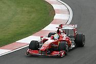 2009 Formula 1 Santander British Grand Prix at Silverstone in Northants, Great Britain. action from Friday practice on 19th June 2009. Felipe Massa of Brazil drives his Ferrari F1 car.