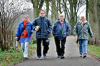 Familie de Boer voor de HC Bloemendaal Mus+. COPYRIGHT KOEN SUYK