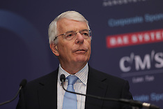 Sir John Major at CBI Scotland dinner. Glasgow, 5 September 2019