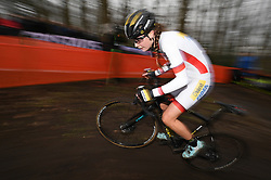 January 28, 2018 - Hoogerheide, NETHERLANDS - Dutch Fleur Nagengast pictured in action during the women elite race of the World Cup cyclocross in Hoogerheide, the Netherlands, 9th and last stage of the UCI World Cup competition, Sunday 28 January 2018. BELGA PHOTO DAVID STOCKMAN (Credit Image: © David Stockman/Belga via ZUMA Press)
