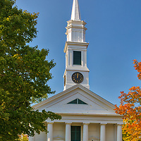 New England fall foliage at the white steeple Petersham Common Church in Petersham, Massachusetts.<br /> <br /> Massachusetts white steeple Petersham Common Church fall foliage photos are available as museum quality photo, canvas, acrylic, wood or metal prints. Wall art prints may be framed and matted to the individual liking and interior design decoration needs:<br /> <br /> https://juergen-roth.pixels.com/featured/white-steeple-petersham-common-church-juergen-roth.html<br /> <br /> Good light and happy photo making!<br /> <br /> My best,<br /> <br /> Juergen