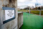 parken gesloten in rotterdam