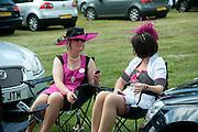 JUDITH KNAPMAN, Royal Ascot. Tuesday. 14 June 2011. <br /> <br />  , -DO NOT ARCHIVE-© Copyright Photograph by Dafydd Jones. 248 Clapham Rd. London SW9 0PZ. Tel 0207 820 0771. www.dafjones.com.