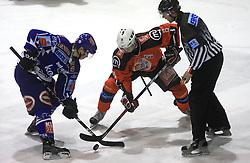 Jeglic Ziga (8) at ice hockey match Acroni Jesencie vs EC Pasut VSV. in EBEL League,  on November 23, 2008 in Arena Podmezaklja, Jesenice, Slovenia. (Photo by Vid Ponikvar / Sportida)