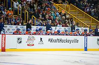 KELOWNA, CANADA - OCTOBER 2: The Edmonton Oilers on October 2, 2016 at Kal Tire Place in Vernon, British Columbia, Canada.  (Photo by Marissa Baecker/Shoot the Breeze)  *** Local Caption ***