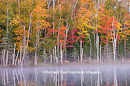 64776-01215 Pete's Lake in fall color Schoolcraft County Upper Peninsula Michigan