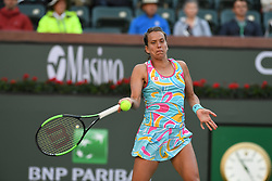 March 8, 2019 - Palm Desert, California, Usa - Tennis : BNP Paribas Open 2019 - Barbora Strycova - Republique Tcheque (Credit Image: © Panoramic via ZUMA Press)