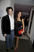 LORD FREDERICK WINDSOR AND SOPHIE WINKLEMAN, DKNY Night Fragrance launch party. The Serpentine Gallery, London, W2. 12 December 2007. -DO NOT ARCHIVE-© Copyright Photograph by Dafydd Jones. 248 Clapham Rd. London SW9 0PZ. Tel 0207 820 0771. www.dafjones.com.