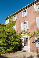 La Bastide Rose in Le Thor, Provence, France.