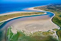 France, Manche (50), Surville, le havre de Surville (vue aérienne) // France, Normandy, Manche department, Surville, Surville haven