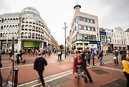 Shoppers on Grafton Street, Dublin, Ireland