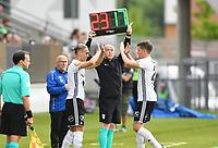 Fotball Menn Eliteserien Rosenborg - Kristiansund<br /> Lerkendal Stadion, Trondheim<br /> 5 august 2017<br /> <br /> Bytte Rosenborg: Inn : Debutant Jonathan Levi Ut: Pål Andre Helland<br /> <br /> <br /> Foto : Arve Johnsen, Digitalsport