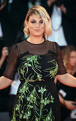 Emma Marrone  walks the red carpet ahead of the 'The Shape Of Water' screening during the 74th Venice Film Festival in Venice, Italy, on August 31, 2017. (Photo by Matteo Chinellato/NurPhoto/Sipa USA)