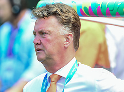 29.06.2014, Castelao, Fortaleza, BRA, FIFA WM, Niederlande vs Mexico, Achtelfinale, im Bild Trainer Louis van Gaal (Niederlande) // during last sixteen match between Netherlands and Mexico of the FIFA Worldcup Brazil 2014 at the Castelao in Fortaleza, Brazil on 2014/06/29. EXPA Pictures © 2014, PhotoCredit: EXPA/ fotogloria/ Best Photo Agency<br /> <br /> *****ATTENTION - for AUT, FRA, POL, SLO, CRO, SRB, BIH, MAZ only*****