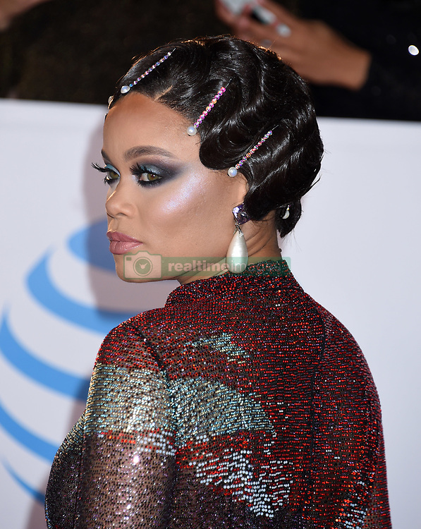 Annie Ilonzeh at the 49th NAACP Image Awards held at the Pasadena Civic Auditorium on January 15, 2018 in Pasadena, CA ©TArroyo/AFF-USA.com. 15 Jan 2018 Pictured: Audra Day. Photo credit: MEGA TheMegaAgency.com +1 888 505 6342