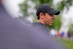 May 29, 2019 - Dublin, OH, U.S. - DUBLIN, OH - MAY 29: Rory McIlroy of Northern Ireland waits to tee off on the 15th hole during the Pro-Am of the Memorial Tournament presented by Nationwide at Muirfield Village Golf Club on May 30, 2018 in Dublin, Ohio. (Photo by Adam Lacy/Icon Sportswire) (Credit Image: © Adam Lacy/Icon SMI via ZUMA Press)