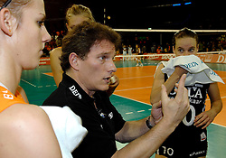 11-11-2007 VOLLEYBAL: PRE OKT: NEDERLAND - AZERBEIDZJAN: EINDHOVEN<br /> Nederland wint ook de de laatste wedstrijd. Azerbeidzjan verloor met 3-1 / Avital Selinger<br /> ©2007-WWW.FOTOHOOGENDOORN.NL