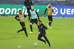 November 5, 2019, Paris, France: Club's Lois Openda pictured during a training session of Belgian soccer team Club Brugge KV, Tuesday 05 November 2019 in Paris, France, in preparation of tomorrow's match against French club Paris Saint-Germain Football Club in the first round of the UEFA Champions League. (Credit Image: © Bruno Fahy/Belga via ZUMA Press)