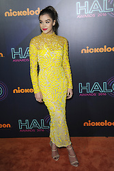 November 12, 2016 - New York, NY, USA - November 11, 2016  New York City..Hailee Steinfeld attending the 2016 Nickelodeon HALO awards at Basketball City Pier 36  South Street on November 11, 2016 in New York City. (Credit Image: © Callahan/Ace Pictures via ZUMA Press)