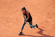 Clara BUREL (FRA) during the Roland Garros 2020, Grand Slam tennis tournament, on October 1 st, 2020 at Roland Garros stadium in Paris, France - Photo Stephane Allaman / ProSportsImages / DPPI