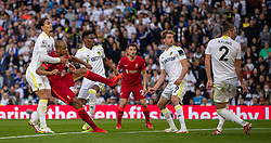 LEEDS, ENGLAND - Sunday, September 12, 2021: Liverpool's Fabio Henrique Tavares 'Fabinho' scores the second goal during the FA Premier League match between Leeds United FC and Liverpool FC at Elland Road. Liverpool won 3-0. (Pic by David Rawcliffe/Propaganda)