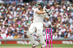 © Licensed to London News Pictures. 03/01/2014. Shane Watson batting during the 5th Ashes Test Match between Australia Vs England at the SCG on 03 January, 2013 in Melbourne, Australia. Photo credit : Asanka Brendon Ratnayake/LNP