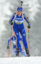 Anna Maria Nilsson (SWE) at Women 15 km Individual at E.ON Ruhrgas IBU World Cup Biathlon in Hochfilzen (replacement Pokljuka), on December 18, 2008, in Hochfilzen, Austria. (Photo by Vid Ponikvar / Sportida)