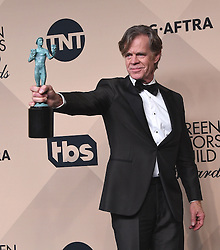 Stars in the 23rd Annual Screen Actors Guild Awards Press Room in Los Angeles, California. 29 Jan 2017 Pictured: William H. Macy. Photo credit: MEGA TheMegaAgency.com +1 888 505 6342